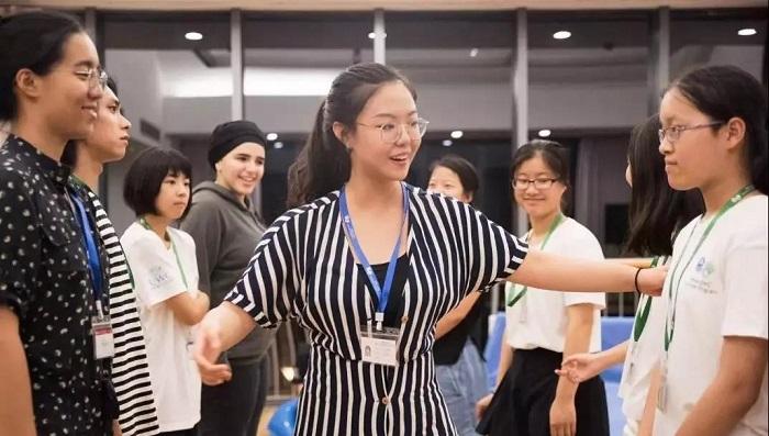 英锐学子夏校theatre improv workshop