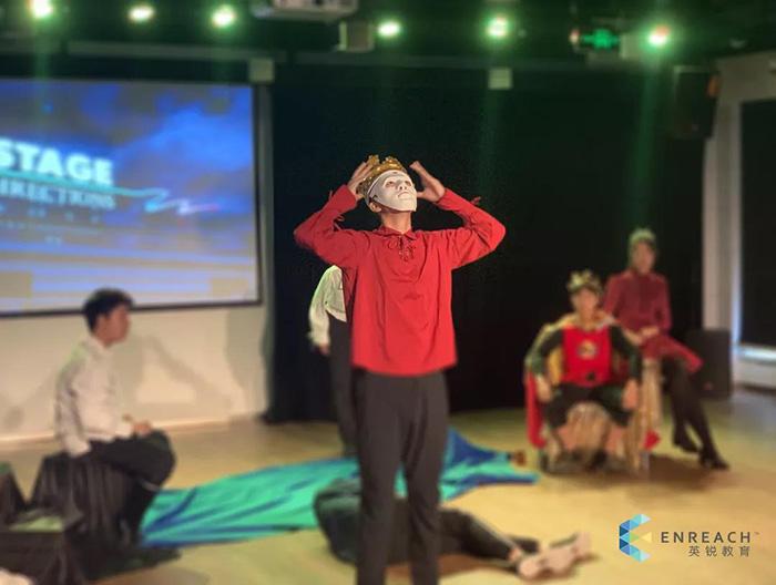 英语戏剧课怎么上?快来看看英锐暑期戏剧营地